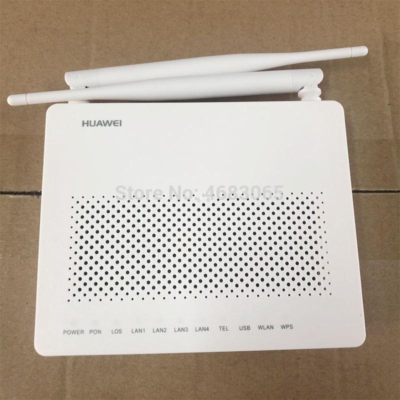 Faseroptikausrüstung 10 stücke Huawei EG8141A5 GPON ONU ONT 5DBI FTTH MODEM-Router 1GE + 3FE + 1TEL + USB + WIFI Dieselbe Funktion wie HG8546, Bare Metal + A