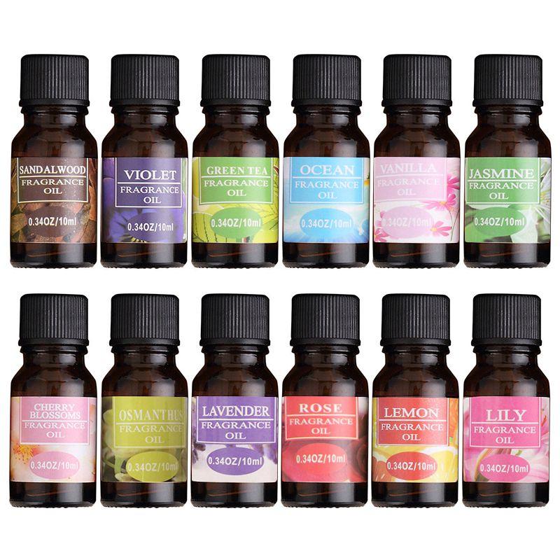 Suda çözünür Çiçek Meyve Esansiyel Yağı Aromaterapi difüzör Uçucu Yağlar Nemlendirici Parfüm Hava Freshening