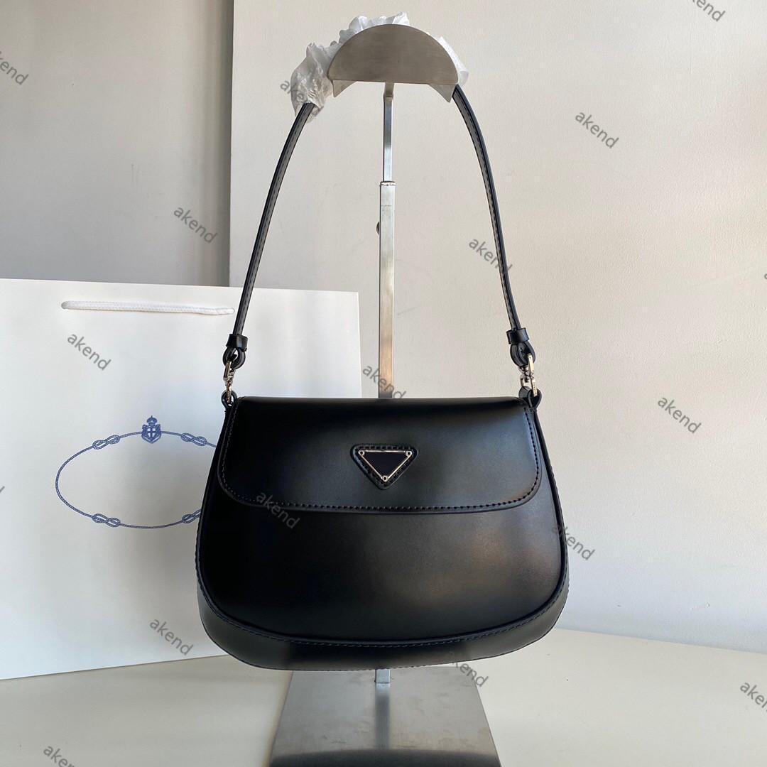 Tote Hobo cuir sac qualité homme Cleo nylon 2021 cuir femme de luxe de luxe épaule brossée top vrais handbags de crossbody