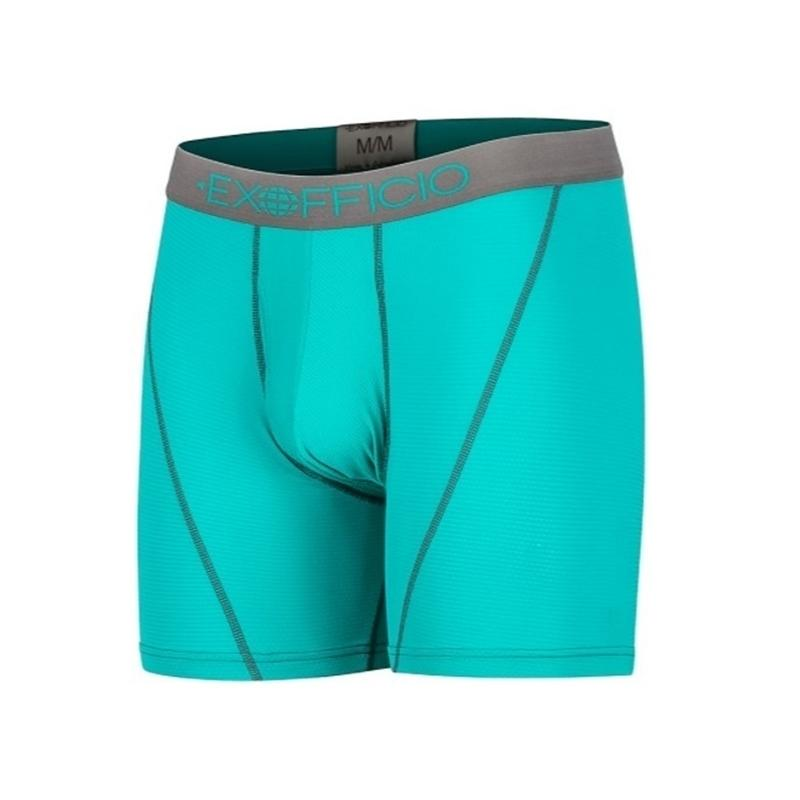 """Nouveaux Exofficio Sous-vêtements Men Sport Mesh 6 """"Boxer Man Underwear serré Quick Dry Ultra Lumière Hommes Boxer USA Taille S-2XL Discount Y200415"""
