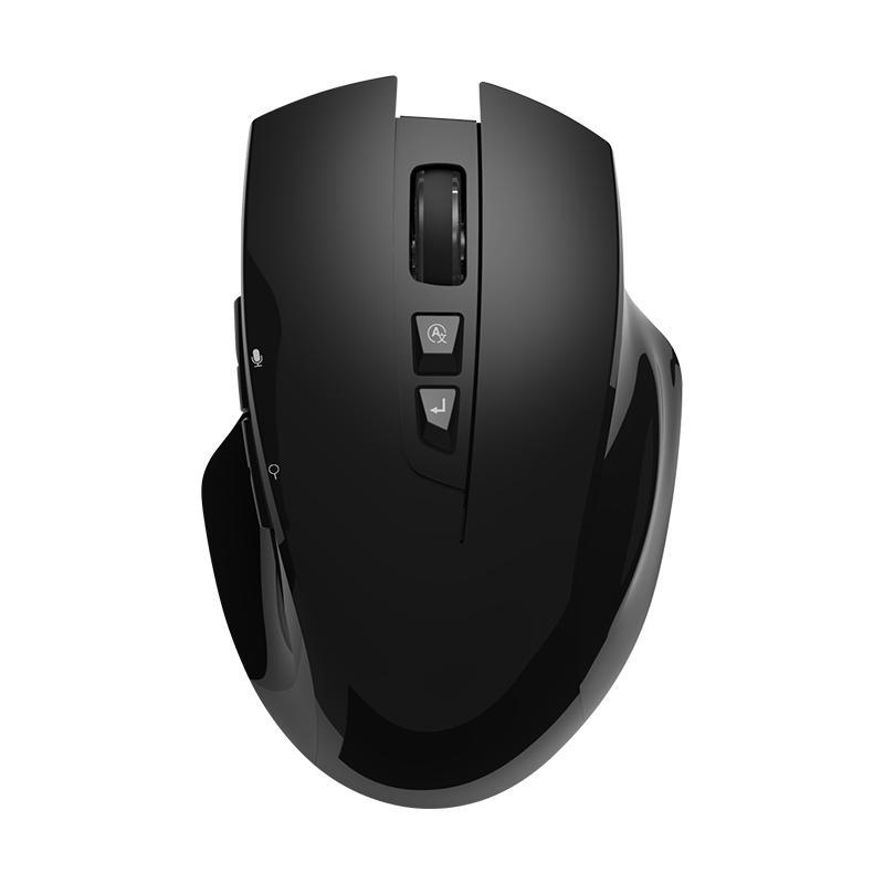 Ratos Levt Redragon Voz Sem Fio Inteligente Mouse Preto V5