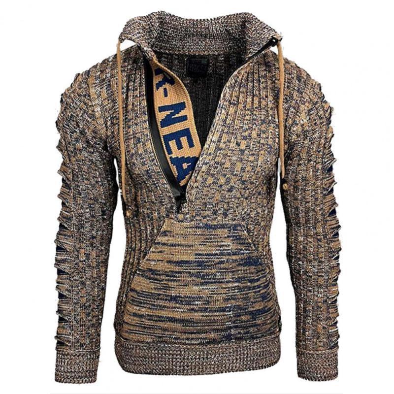 Yeni Hoodie Erkekler 2021 Bahar Rahat Katı Uzun Kollu Erkek Hoodies Tişörtü Ince Fermuar Hoody Kazak Erkekler Kapüşonlu Streetwear