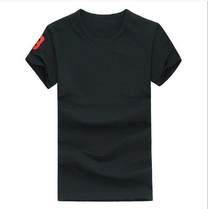 ralph lauren Summer Plus Talla grande de alta calidad Nueva O-cuello de manga corta Camiseta de manga corta para hombres Camisetas estilo casual para hombres deportivos camisetas