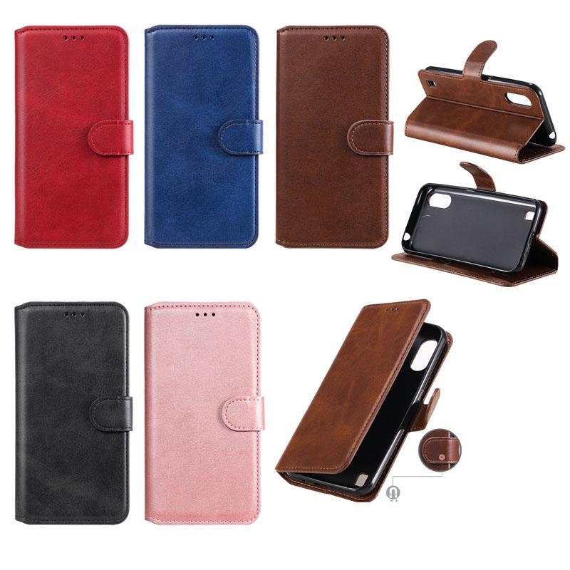 Retro Leder Brieftasche Hülle für iPhone 12 Mini 12 PRO MAX 11 XR XS MAX 8 7 6 PLUS SE 2020 Kartensteckplatz ID Halter Halter Ständer Vintage Flip Cover