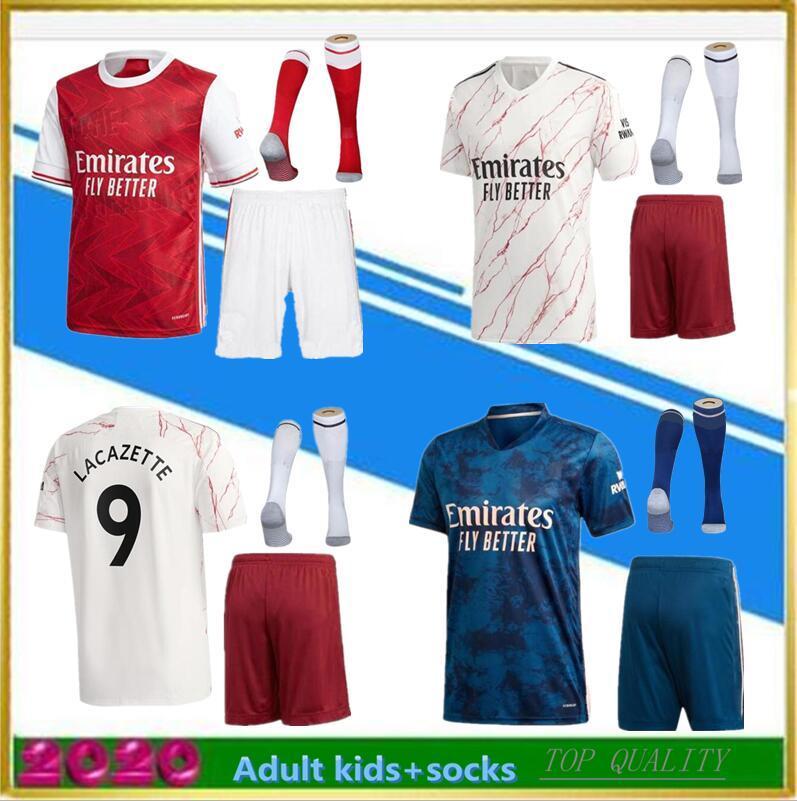 Neue 2020 Home Away 3. Fussball Jersey 2020 2021 Fußball Hemd Camiseta de Futbol Maillot de Foot Erwachsene Kinder Kit Socke