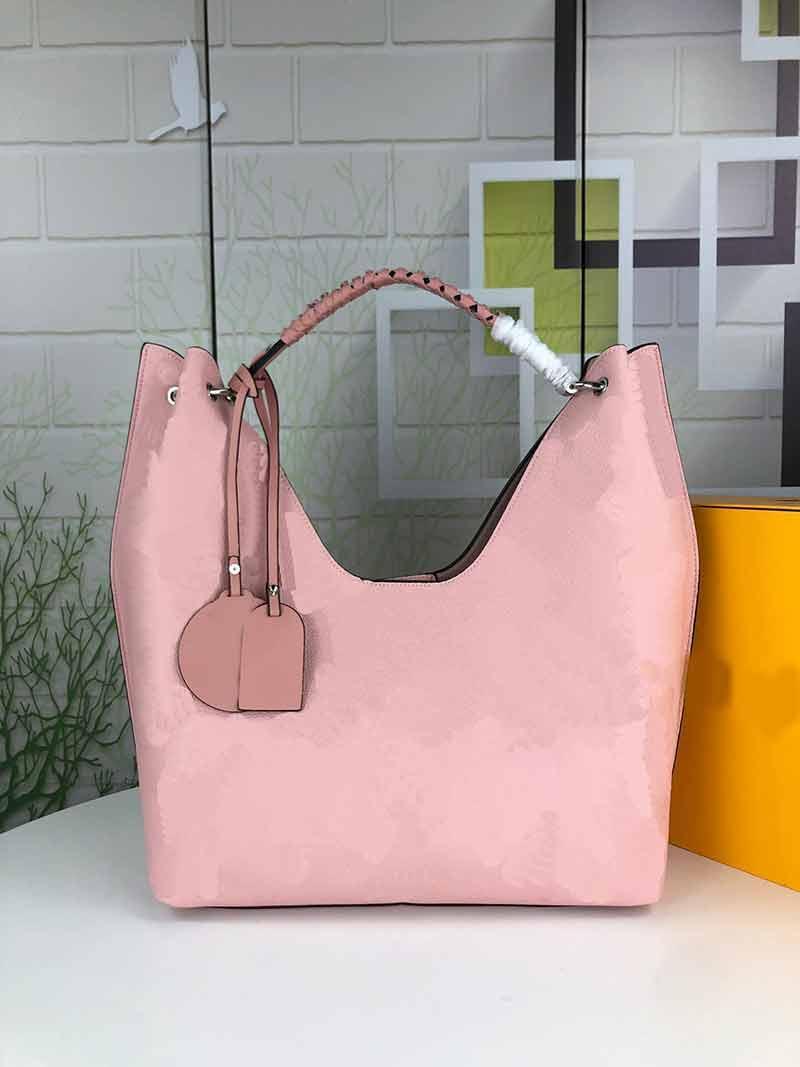 M53188 Alta Bolsa Bolsa De Embraiagem De Couro Real Bag Saco Insid Bag ombro serial em mulher Número Qualidade CKJGH