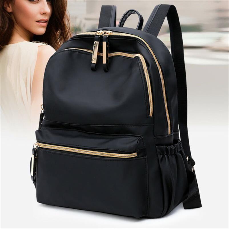 NoEnName Boş Moda Kadınlar Bayanlar Hırsızlık Sırt Çantası Omuz Çantası Laptop Kitap çanta Fonksiyonlu Su geçirmez Seyahat Sırt Çantası