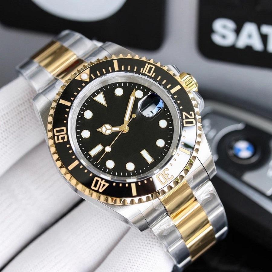 43 мм мужские часы наручные часы нержавеющие стали автоматические механические спортивные мужские часы