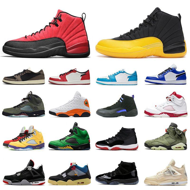 jordans Air jordan Retro Aurora vert Flint Playground 13s Top qualité Jumpman 13 Hommes Femmes Chaussures de basket-Bred Luky GREEN Cap and Gown Sport Chaussures