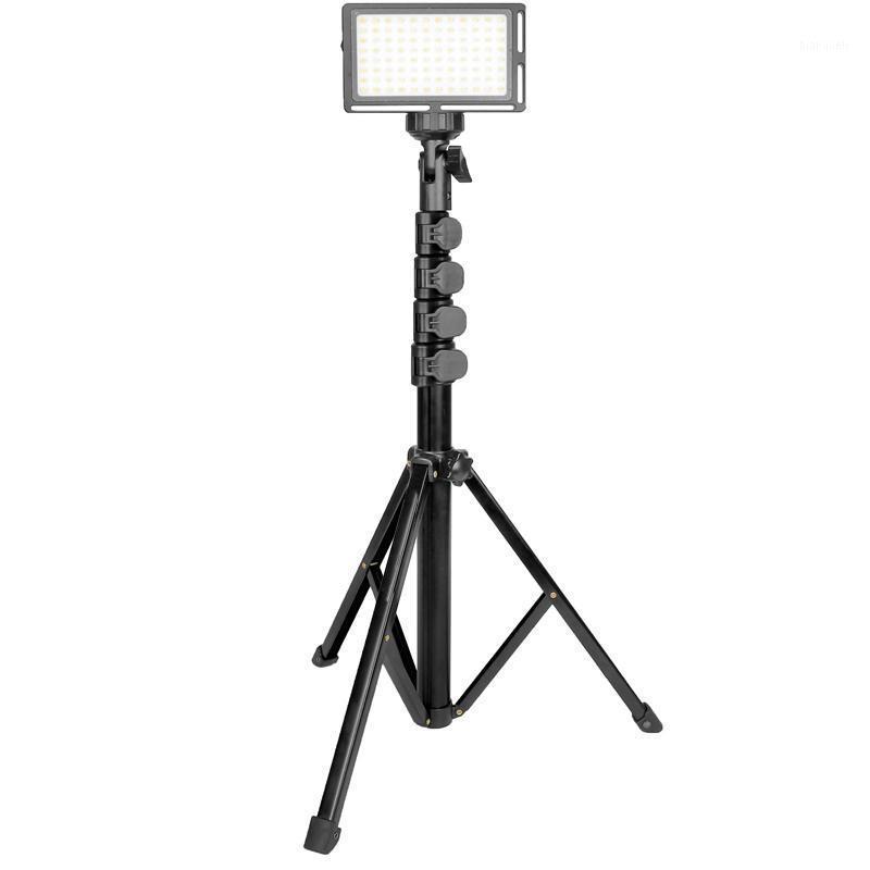 Tenedor de teléfono de pie todo-metal Portífago Ligero Ligero Durable Video en vivo Soporte de transmisión para cámara Smartphone1
