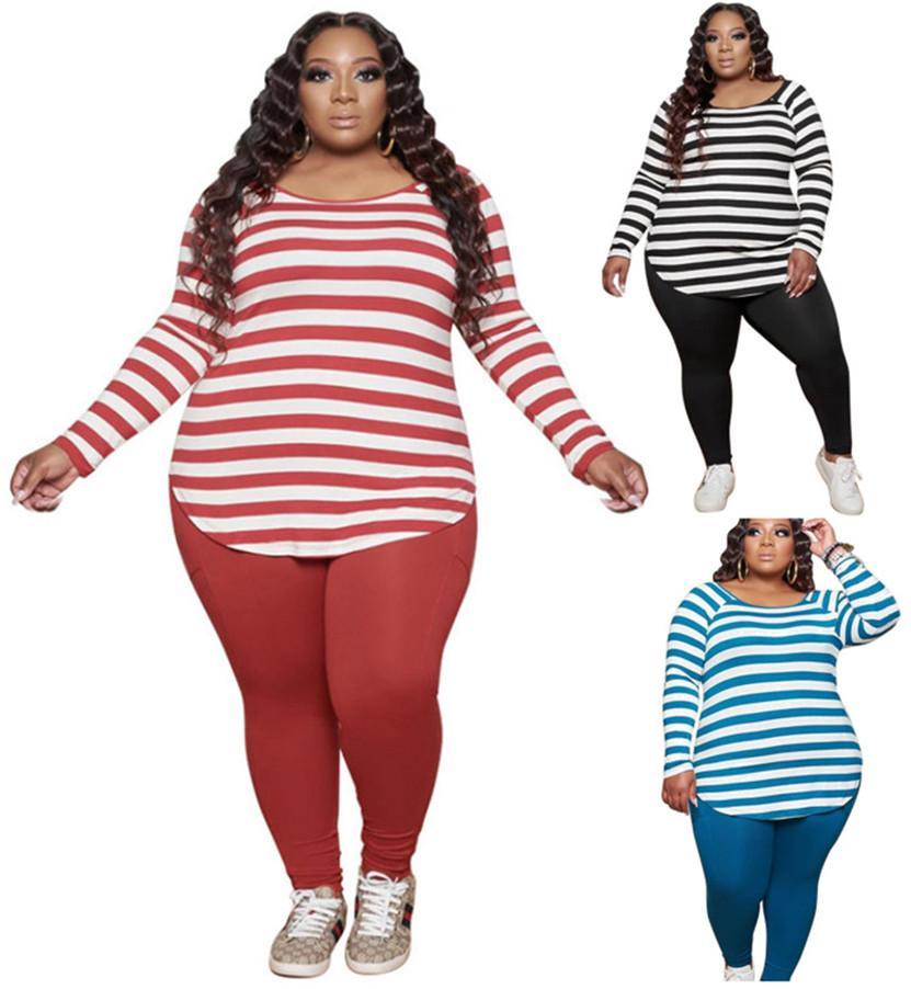 Plus size 3x 4x 5xl mulheres tamanho grande roupa roupa queda inverno tracksuits moletom + calça dois pedaços conjunto casual jogador terno 4184