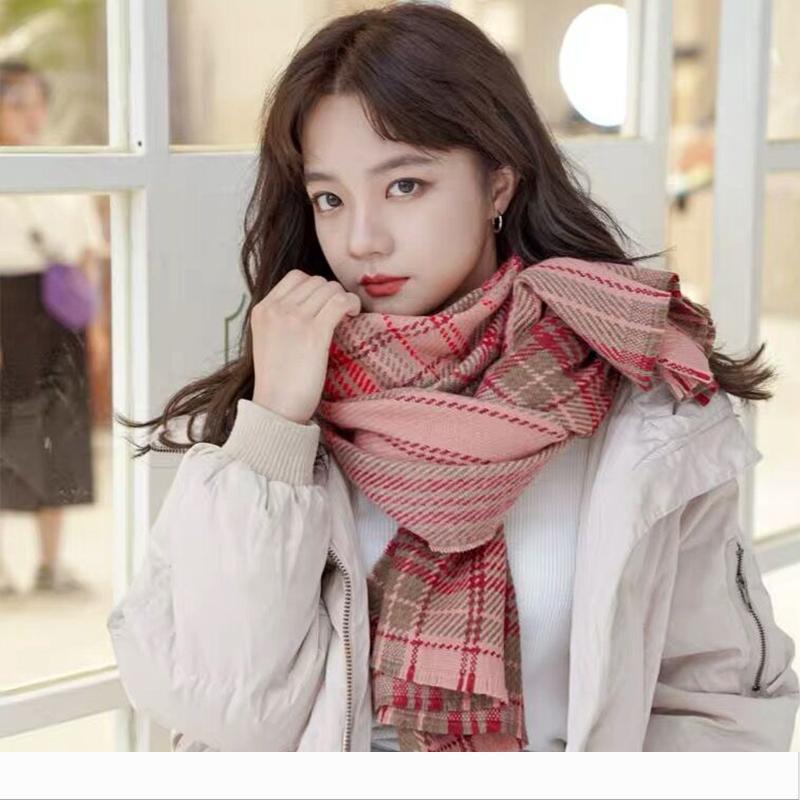 Designer der neue Ankunft Art und Weise Herbst Winter Plaidschal Frauen warme hohe Qualität elegante nette Außen bequeme lange lov