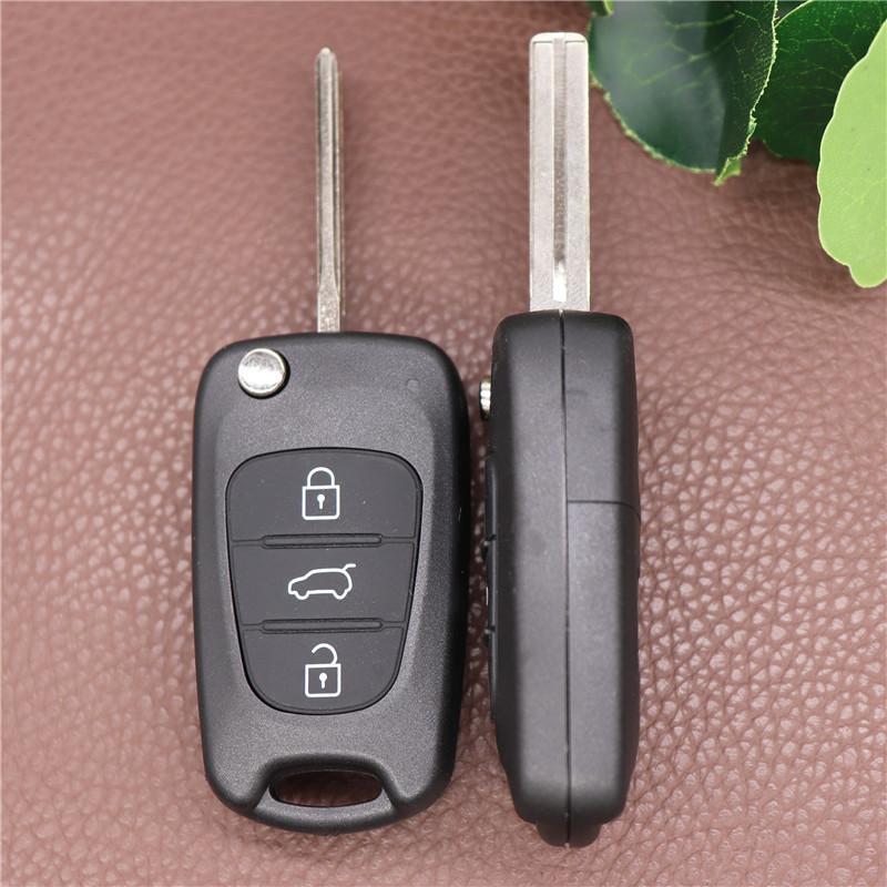 BECHET BLADE 3 кнопки Flip Remote Case Case Shell для Kia Keys Keys Bulection Cover Замена Ключ оболочки для KIA