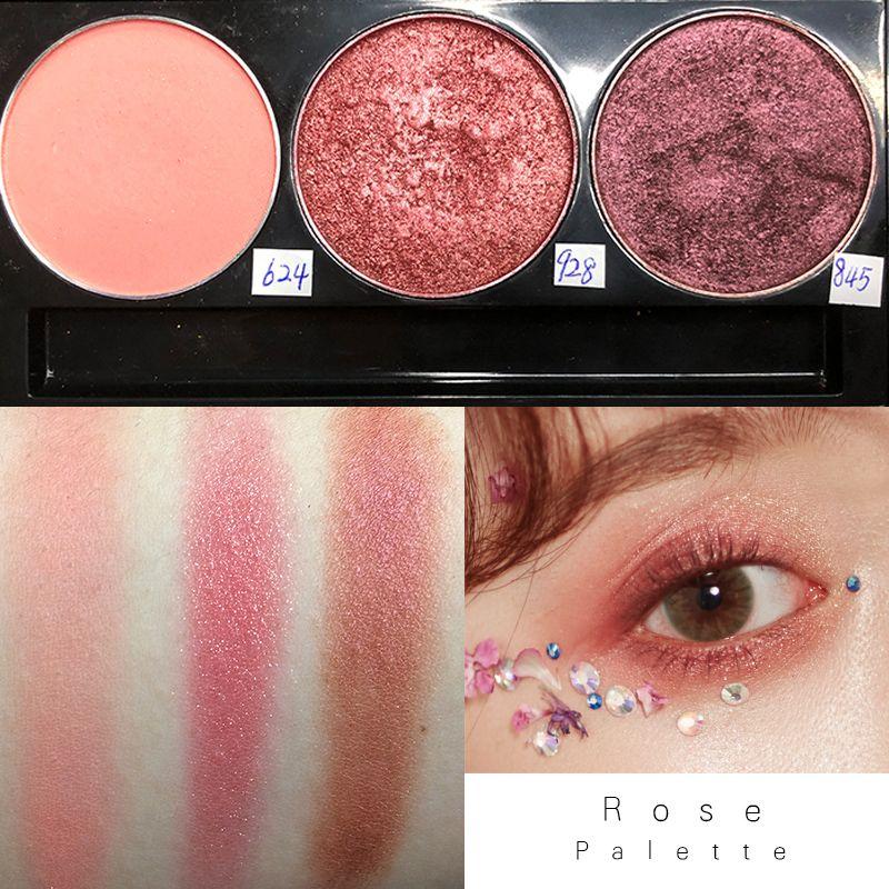RedBlack INS manera de la llegada desnuda DIY Encanto ojos de la paleta de sombra de ojos en polvo sombra de maquillaje sombra de ojos pigmentadas Cosméticos