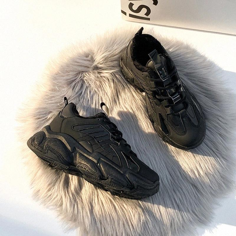 2021 Winter Femme Femme Mode Sneakers Enceinte Femmes Plateforme Chunky Casual Chaussures Sport Vulcanisée Formateurs Dames Zapatos Mujer # AP4V