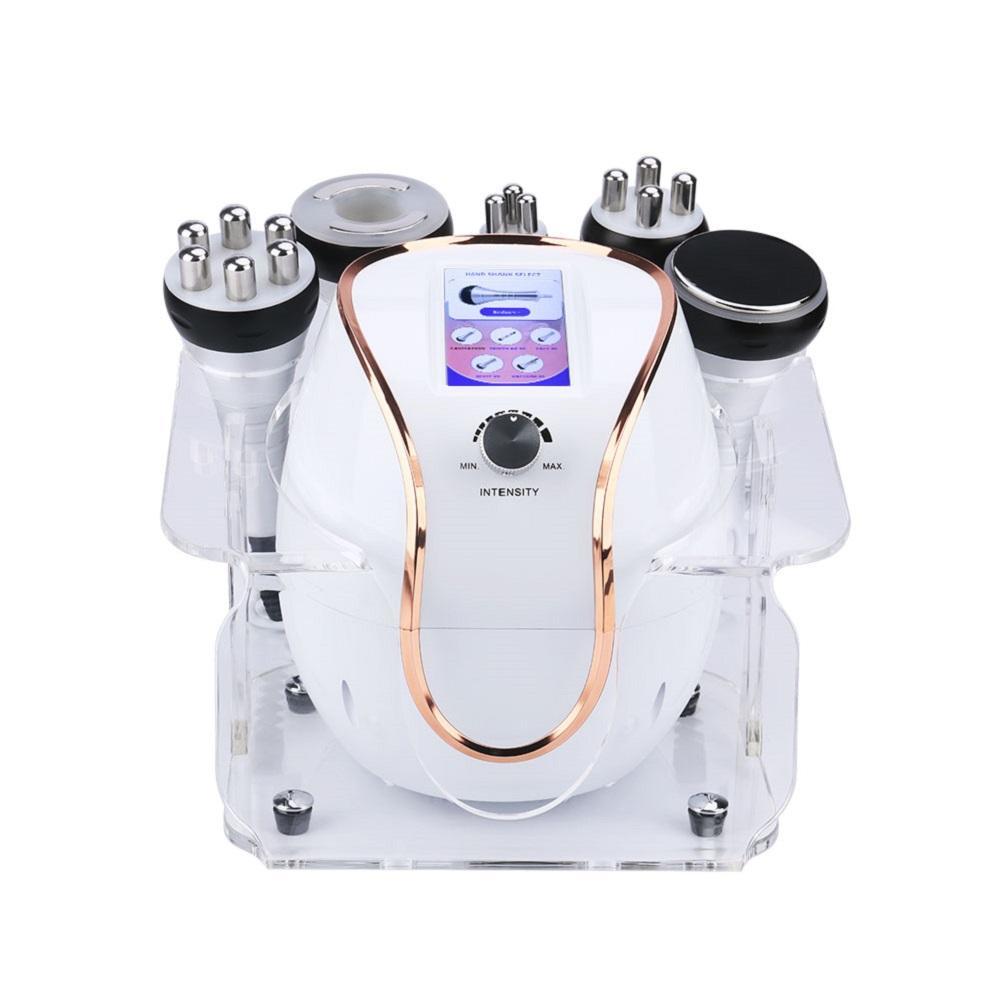 2021 المحمولة 40K كافيتاكاو بالموجات فوق الصوتية 5in1 آلة التجويف تردد الراديو لانقاص الوزن الدهون