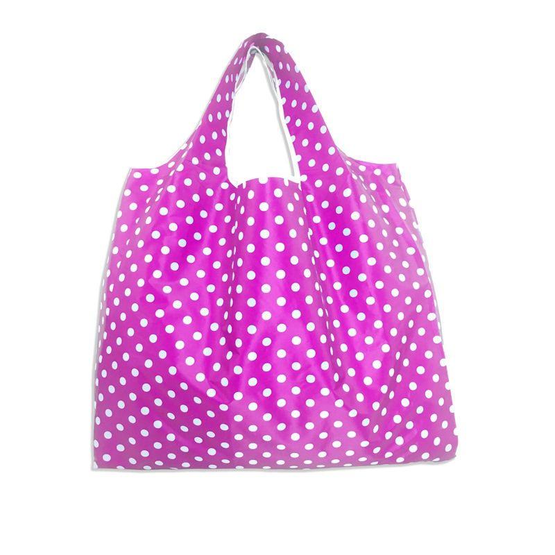 Большой Толстый Большой Tote ECO Многоразовый нейлоновый Портативный складной хозяйственная сумка на ремне сумки Складной мешок фруктов Растительные Бакалея