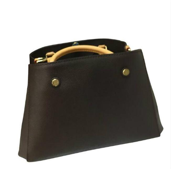 Newset Borse Montaigne Tote Donne Borsa a spalla in pelle Borse Borse Borse Stampa Floral Stampa Borse Crossbody Big Shopper Bag Business Laptop Bag