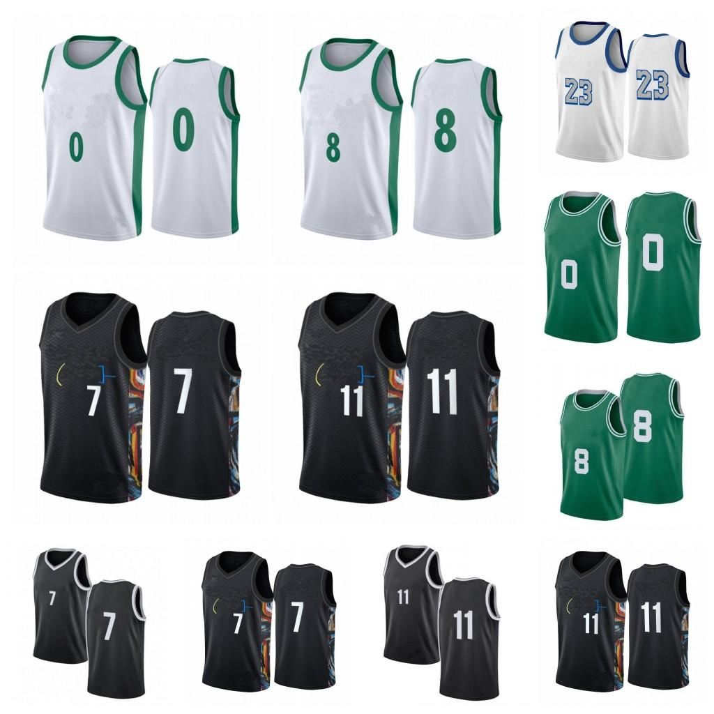 NCAA 8 Walker 7 Durant Men 11 Jerseys 23 3 Davis City Black Basketball 자수