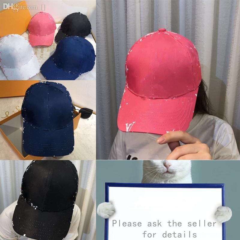 Qosbh Femmes Check Letter Lettre Designer Bucket Hat Automne et Bonnet Hiver Marée Marque Out Cap Wild Fashion Designer Chapeaux de baseball Haute Qualité