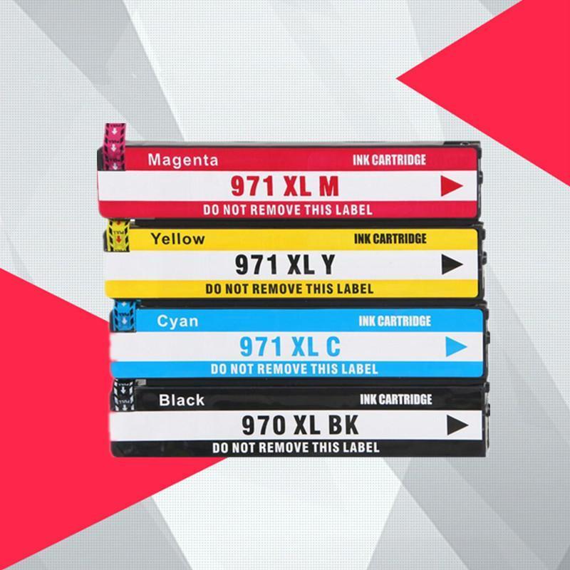 970XL 971XL 970 971 XL Yedek Mürekkep Kartuşu için 970 OfficeJet Pro x451dn x451dw X551 x576dw x476dw x476dn x476dw x476dn