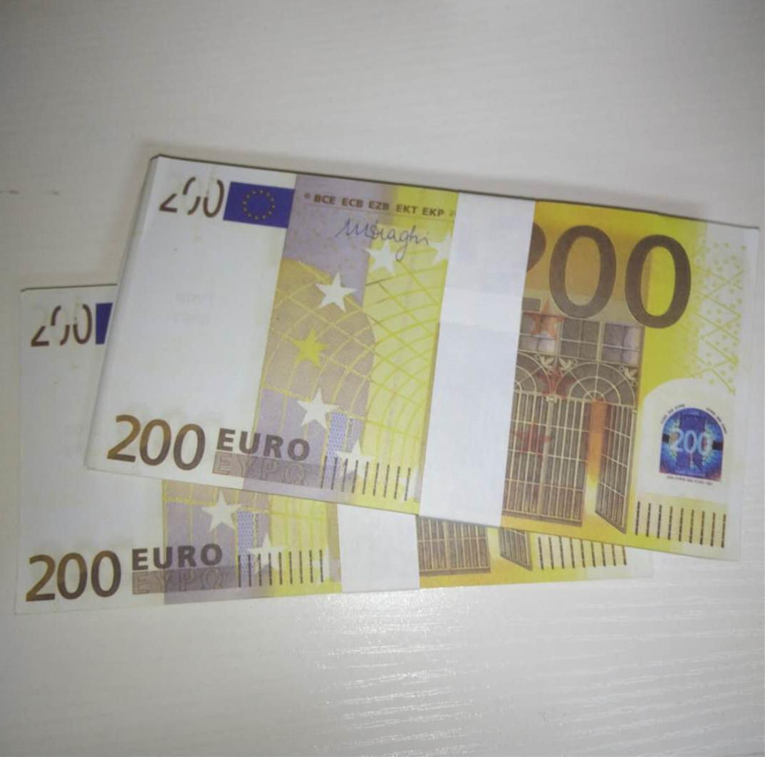 Fête Atmosphère Billette de billette contrefaite 200 bar EWWCG Faux ProP Le200-43 Atmosphère Argent Nouveau Euro Bar Stade Kuhsa