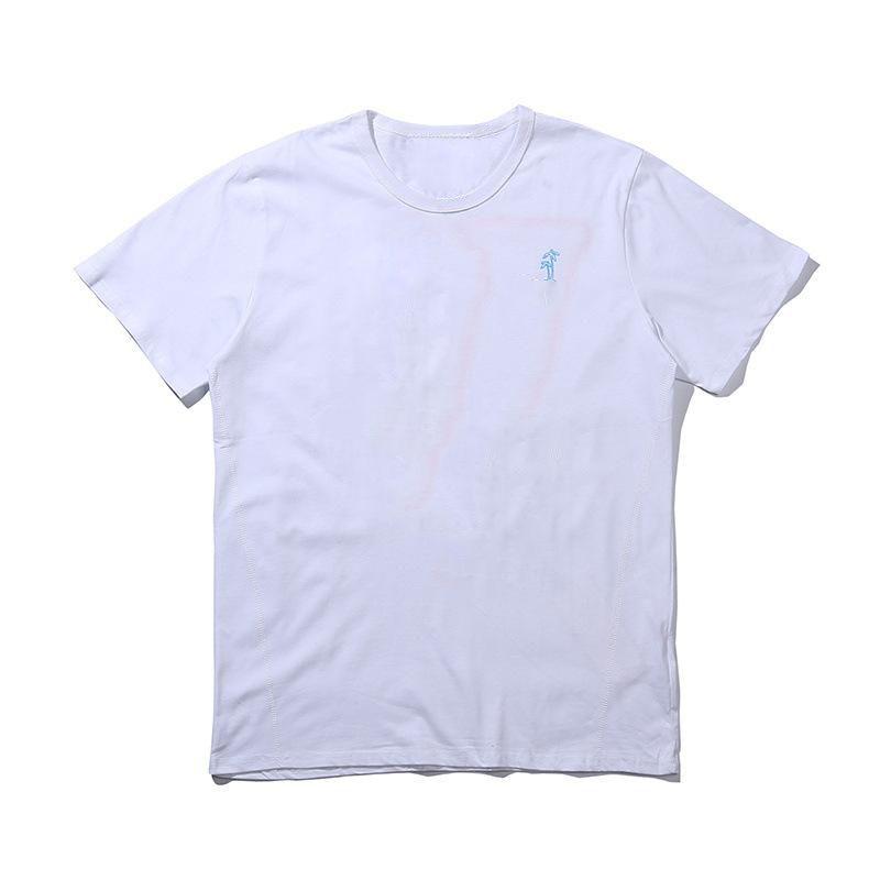 T-shirt da uomo T-shirt T-shirt grande alta qualità hip hop uomini donne manica corta polo
