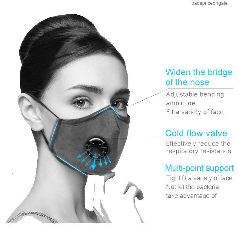 Хлопковый фильтр PM2.5 РОТ Anti-Suredlets Трансмиссия Ветрозащитный Ветрозащитный Многоразовый Многоразовый Морффл Анти Бактерии Маска для лица