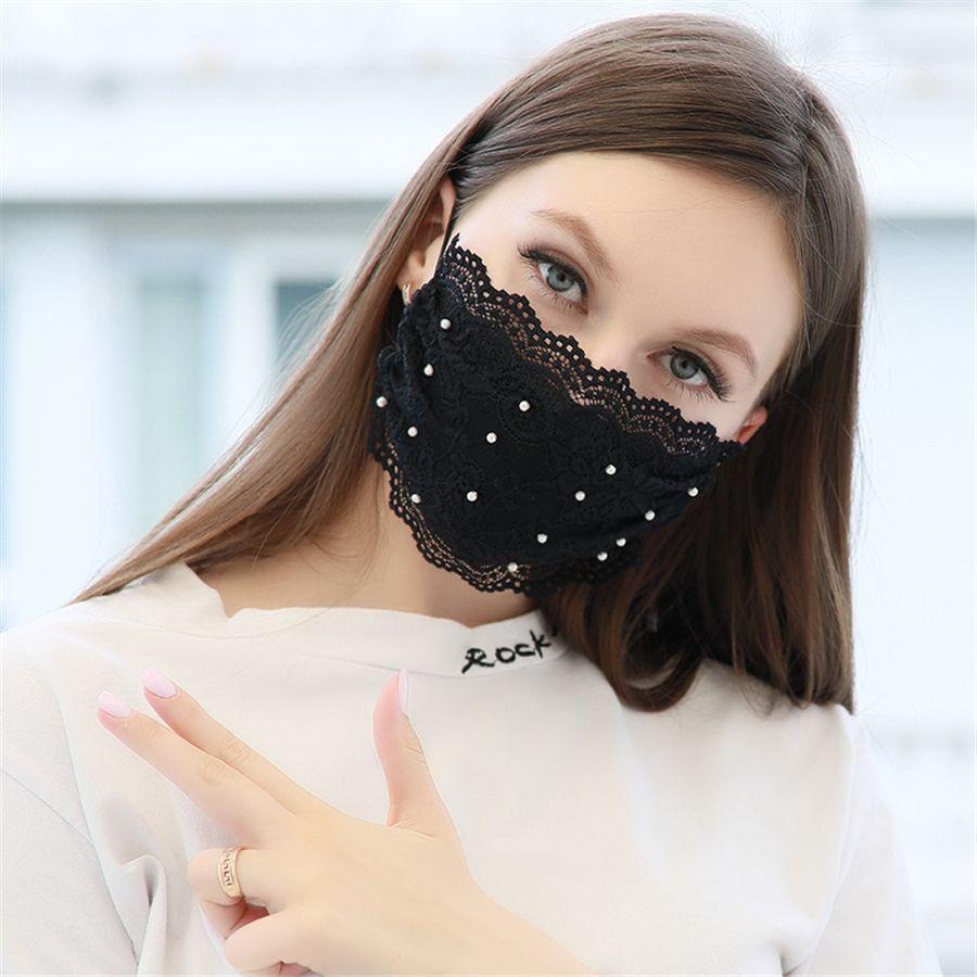 Manque Masque de crâne personnalité Masques Anti-poussière Impression glace de la mode Tissu en soie Can E Masques Washed # 834