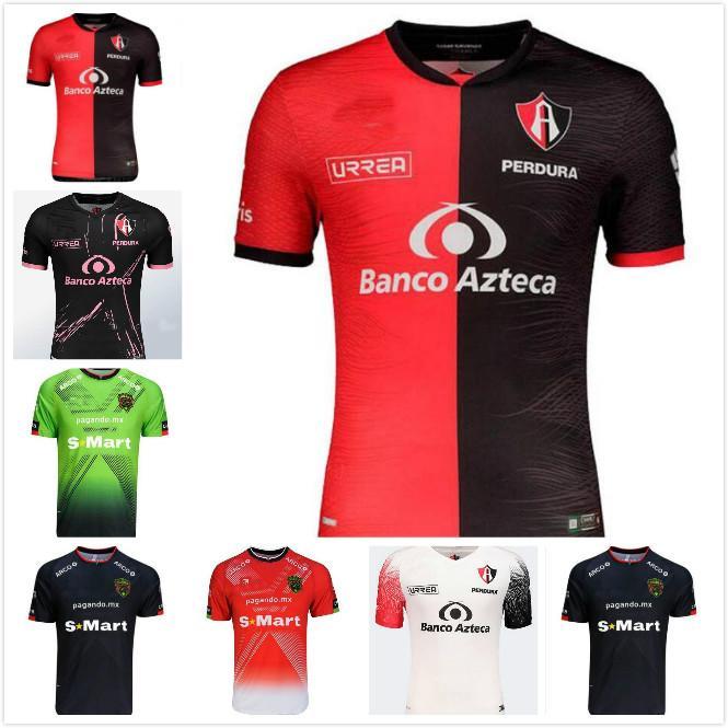 2020 2021 Liga MX Atlas Futbol Formalar L.Reyes I.Jeraldino Acosta I. Renato J. Angulo Custom 20 21 Deplasman Futbol Gömlek Üniforma
