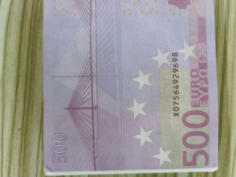Трансграничные новые продукты и горячие продажи развлекательных заведений и развлекательные реквизиты монет на 500 евро 04