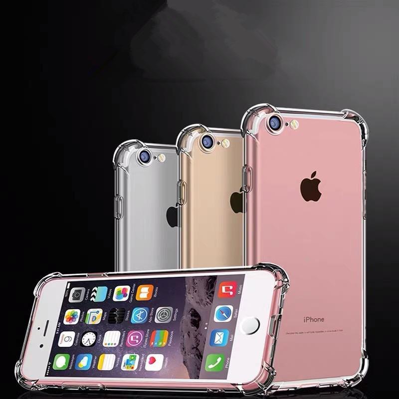 Высококачественные прозрачные телефонные чехлы TPU для iPhone 13 12 11 PRO 8 7 6S PLUS XR X XS MAX Soft Shell утолщение четкого чехола гель