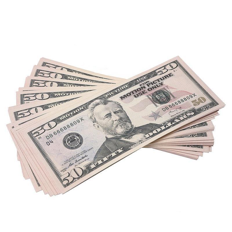 50 dólar bill euros prop simula a barra de filme atmosfera moeda falsificada dinheiro bebê aprendizagem brinquedo dólares banco nota