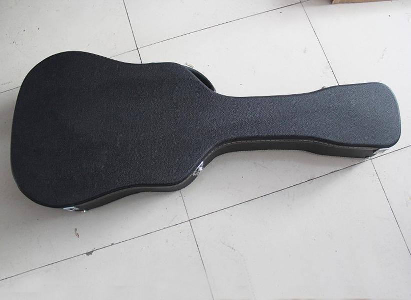 41/43 chitarra acustica Hardcase, Formato / marchio / colore può essere personalizzato come richiesto