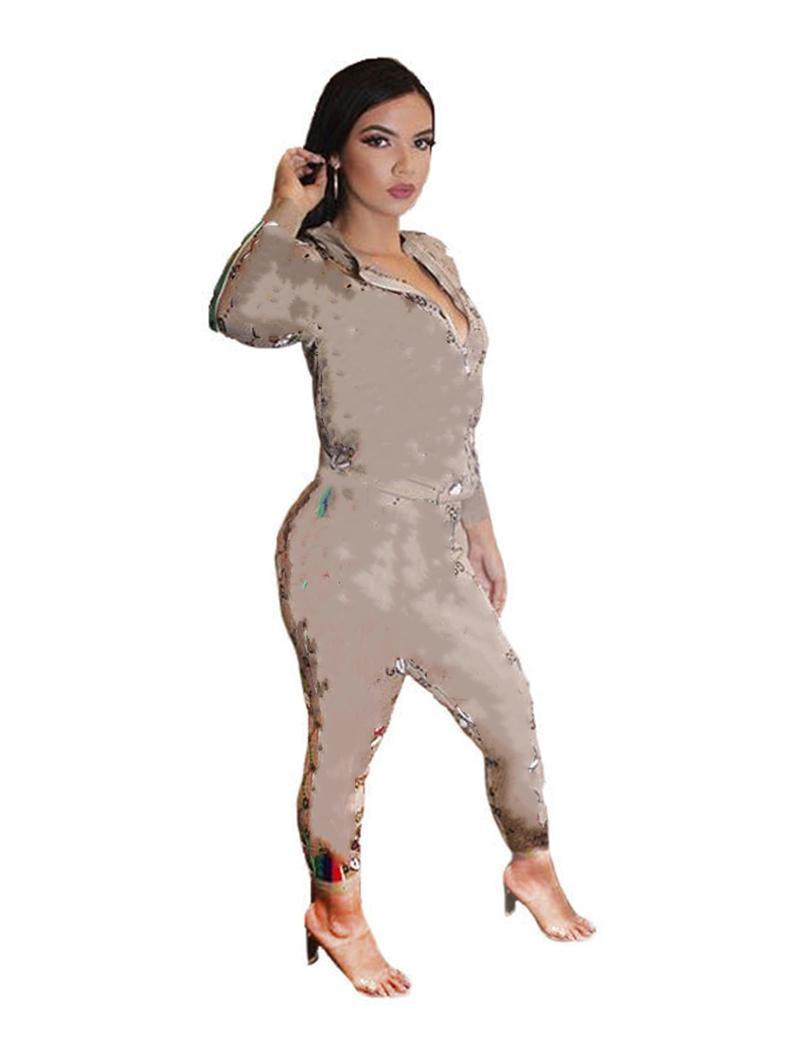 النساء رياضية مثير طويلة الأكمام 2 قطعة الرياضية اللياقة البدنية مريحة ملابس فاخرة بسيطة جودة عالية فريدة بسيطة klw5128