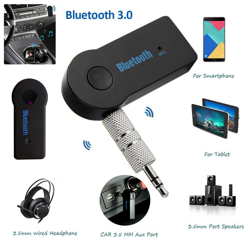 5.0 di Bluetooth Audio trasmettitore ricevitore Mini Bluetooth stereo AUX USB 3.5mm Jack per l'adattatore wireless PC TV Cuffia Car Kit