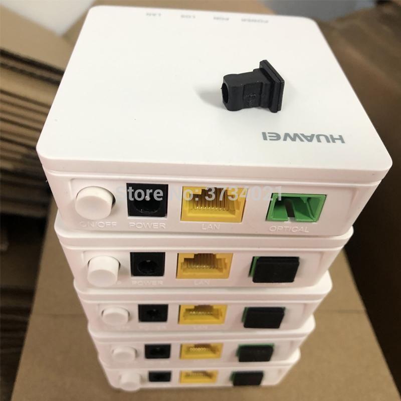 5 шт. 10 шт. Huawei HG8010H GPON ONU ONT FTTH FIBERHOME ONU модем 100% новый 1GE GPON ONT с вилкой EU, английская прошивка