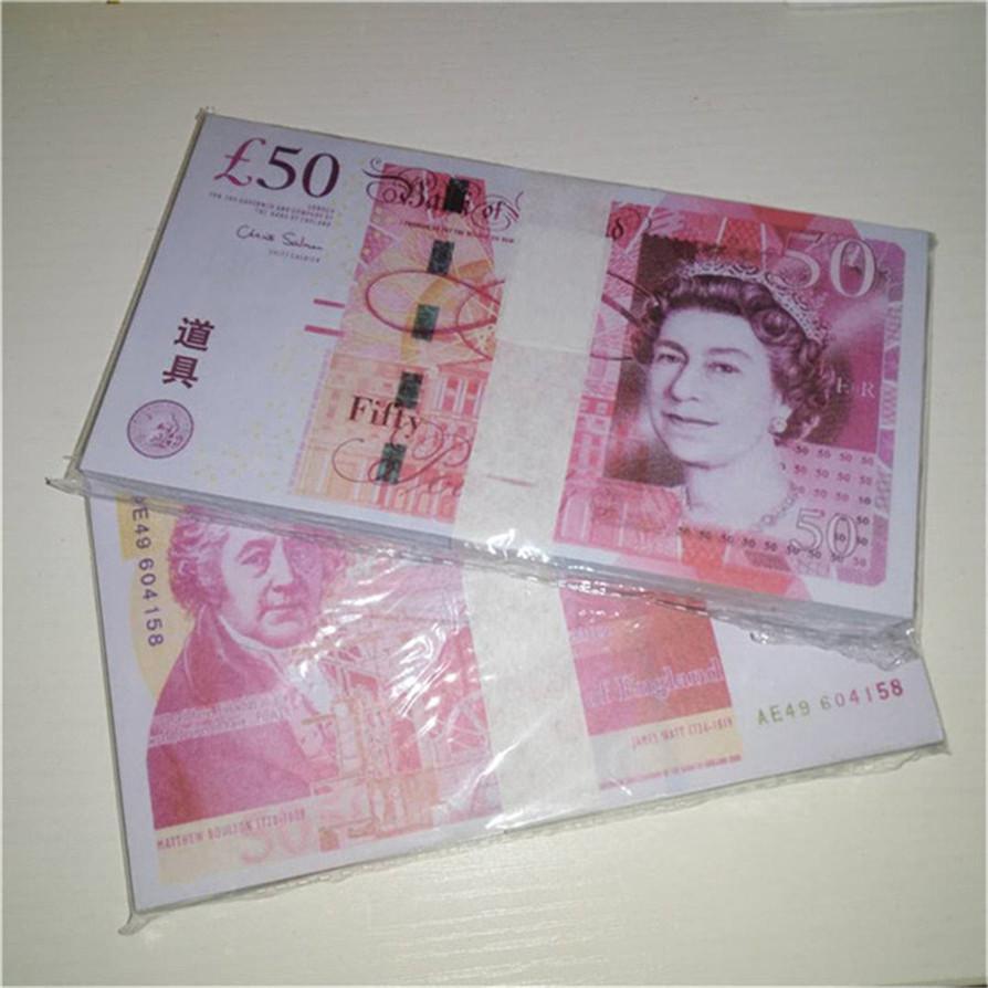 Высочайшее качество реквизит денежные валюты контрафакт доллар евро бар атмосфера стадии партии реквизит маленький квадратный игрушечный билет A140