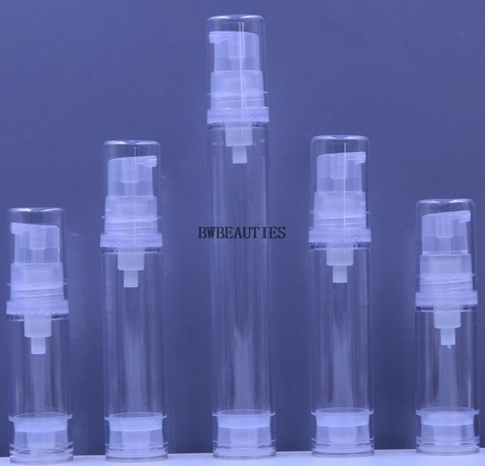 2000 шт. / Лот 5 мл / 10 мл / 15 м. Бутылочная бутылка у Duckbill вакуумные, косметические пустые безвоздушные насос