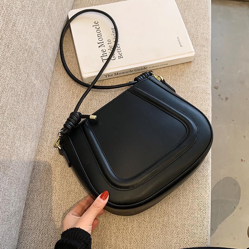 Handtasche tasche leder kreuz 2021 körper frauen crossbody reise schulter einfach sattel damen retro mode tasche messenger für qmgsv taschen frlee