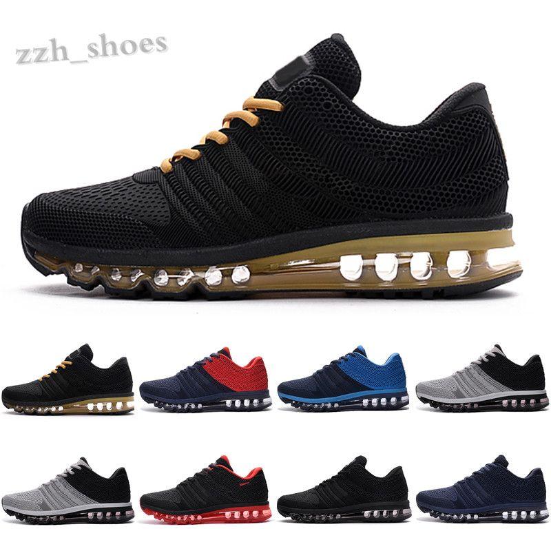 2020 Chaussures Erkek Ayakkabı Ayakkabı Bengal Gri Turuncu Siyah Altın 2017 KPU Yastık Sneakers Spor Eğitmenler Boyutu 7-13 PR07