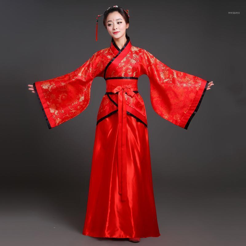 2020 Hanfu Costume National Costume Chinois Costume Costume Ancien Chinois Hanfu Femmes Vêtements Lady Stage Dress1