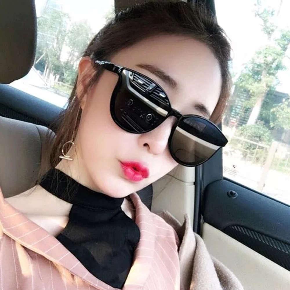 2020 New Rete Red Female Femmina Harajuku Wind Round Face Occhiali da sole polarizzati GM STUSSO OCCHIALI