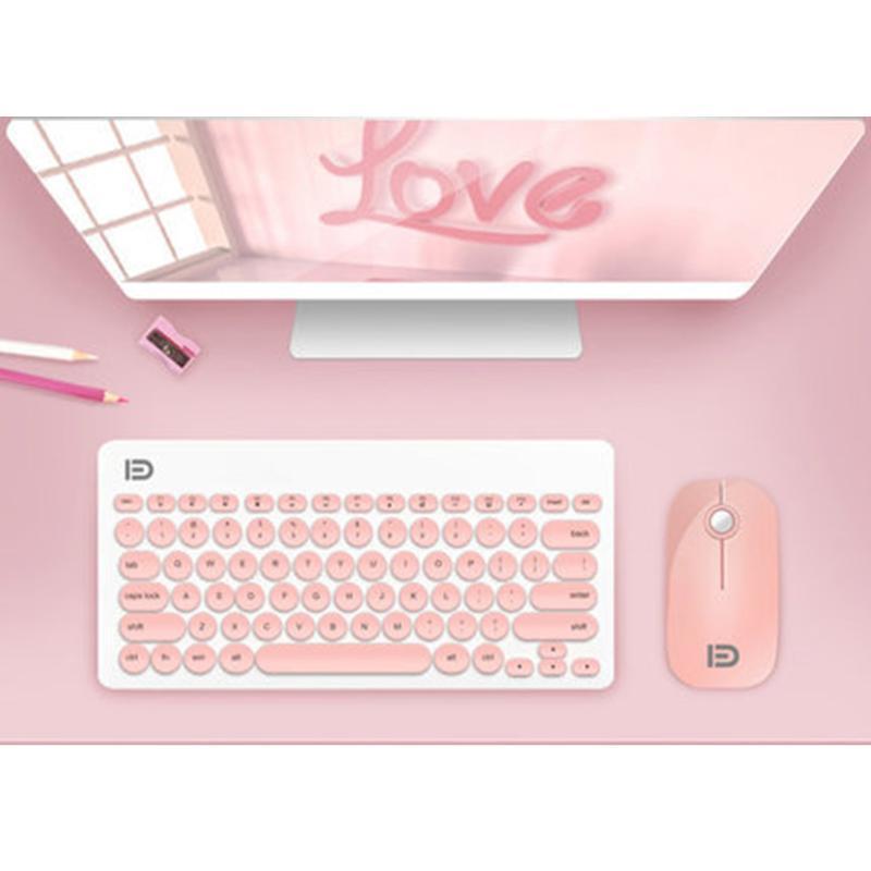 Клавиатура Mouse Combos Wireless и Combo - включены, 2,4 ГГц соединение, длительный срок службы батареи без отставания