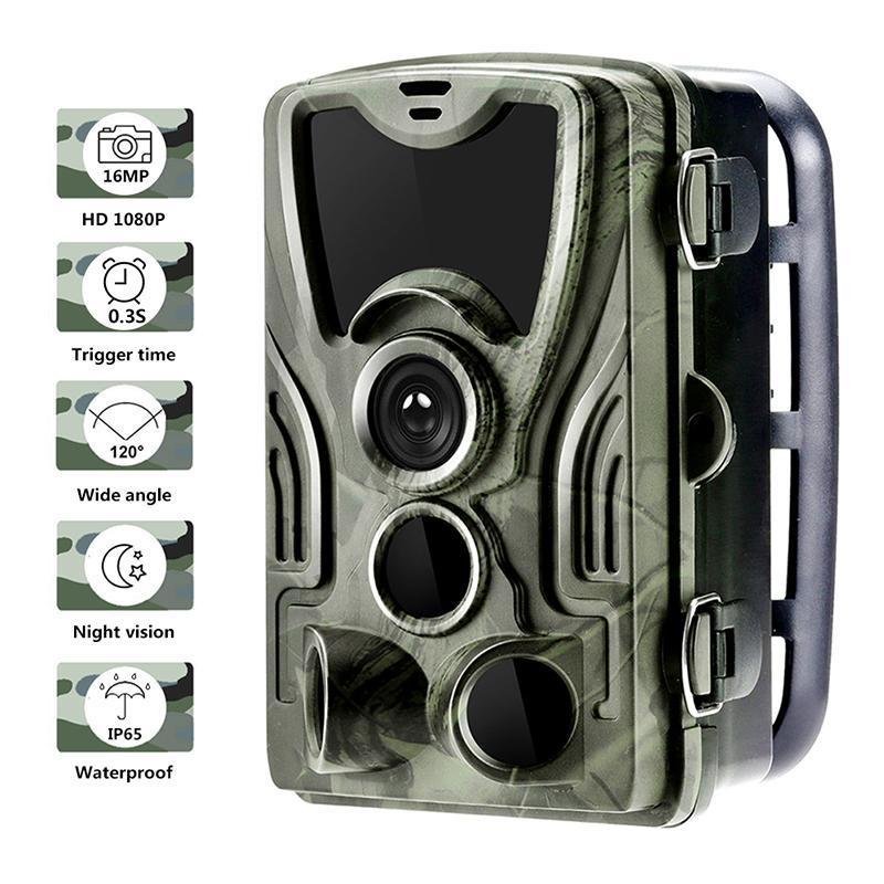 Hunting Trail Camera Wildlife Camera With Night Vision Fast Trigger Motion Activated Outdoor Trail Trigger Scouting