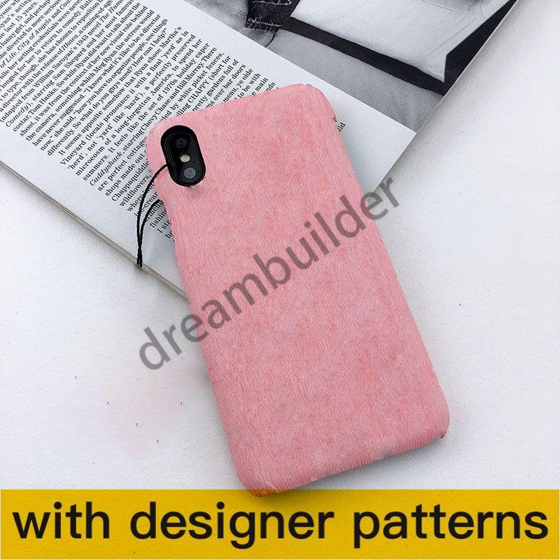 Casi del telefono della moda per iPhone 12 Pro Max 12 Mini 11 XR XS Max 7/8 Plus PU Shell del telefono in pelle PU per Samsung S20 S10 Plus Nota 8 9 10Plus