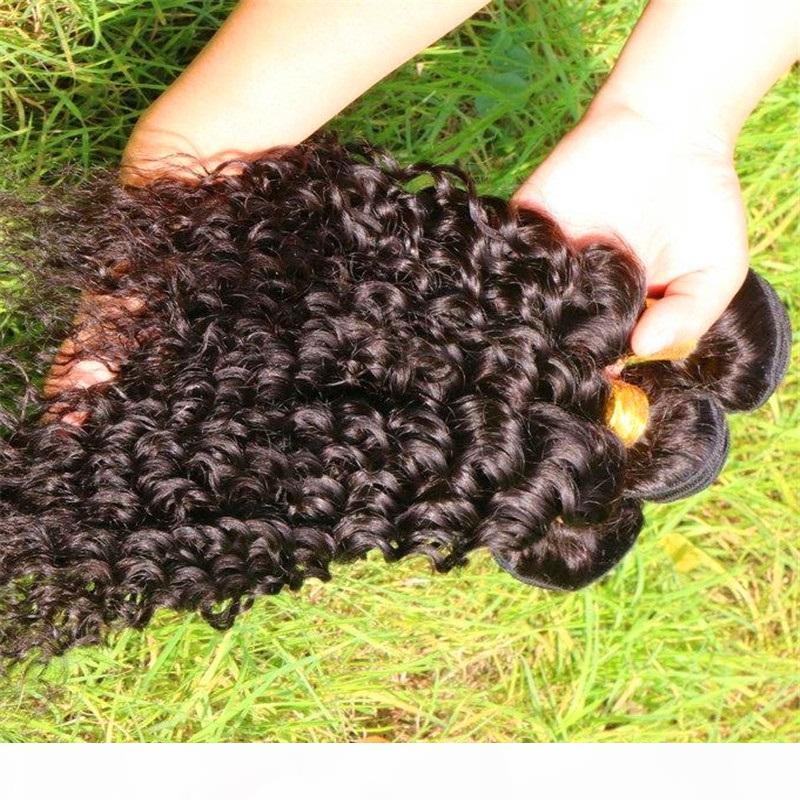 Bundles de la vague corporelle 1 100 g 2 200g PCS BUNLES BUNDLES BUNDLES DE CHEVEUX DE REMIS DE CHEVEUX NATURE NATURELLE Bouchons de cheveux Humaines Noir 8 - 30 pouces