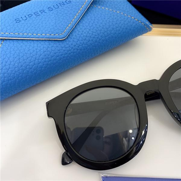 Para gafas de sol de moda con protección contra estuches 065 Square Sunglasses Mujeres Marco Los hombres vienen la calidad superior de la vendimia Popular con UV y Classic ICWI