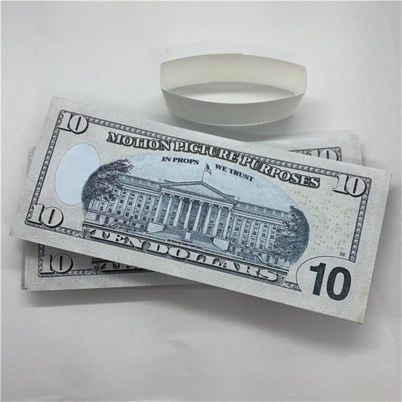 Spielzeug Kinder T28 Requisiten Geld Shooting Bank Kopieren U.S.Freiheit Banknoten Dollar Bar Sdajn Leistung geschmiedet 10 Gefälschte Amces