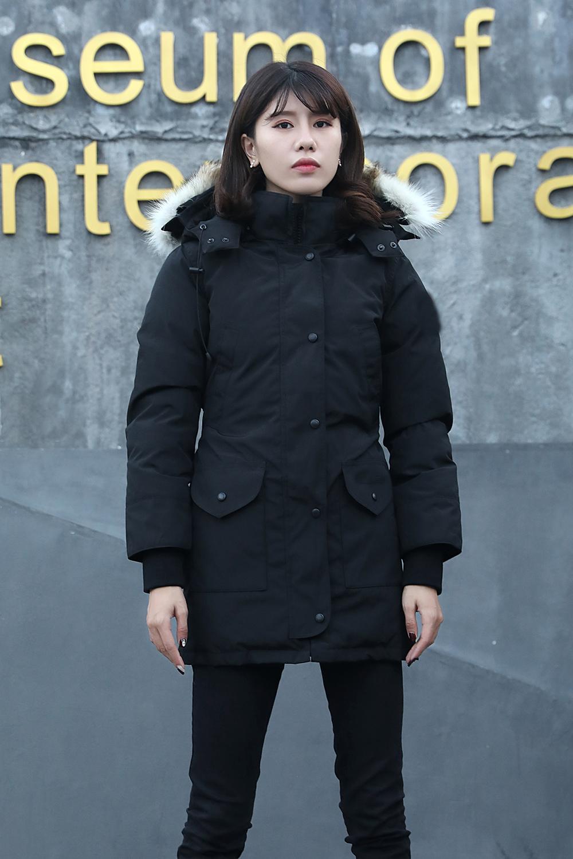 2020 Роскошный дизайнер женщин зимняя куртка пальто зимы пальто женские пальто женщина женская утепленная теплый и густой ветровку вниз